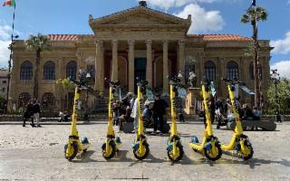 Wind Mobility lancia il servizio monopattini in sharing a Palermo