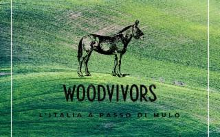 Woodvivors, da Pantelleria al Piemonte sul dorso di un mulo