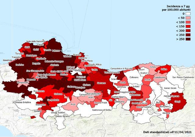 Gli ultimi dati dei report di prevalenza e incidenza del Coronavirus a Palermo e provincia