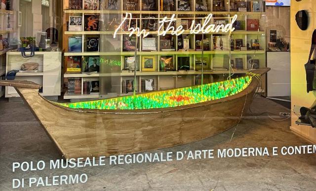La barca di luce di Domenico Pellegrino approda al BookCulture del museo RISO