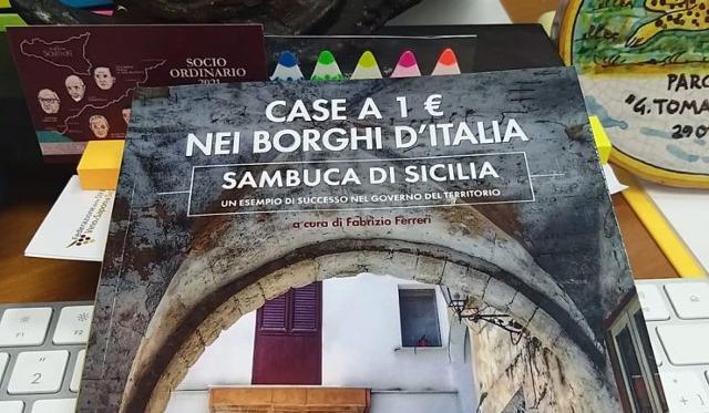 L'iniziativa ''Case a 1 euro'' spiegata in un libro