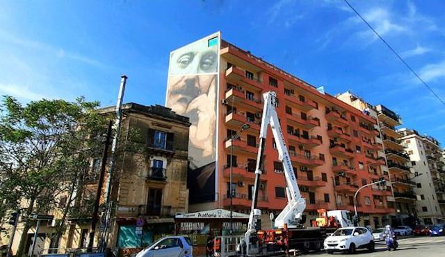 A Palermo murales e arte contemporanea per la legalità