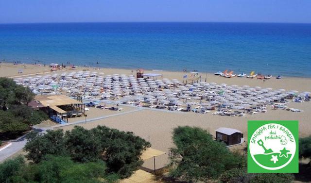 Le spiagge di Noto amano e sono amate dai bambini