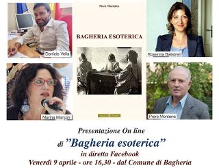 La presentazione dell'ultimo libro di Piero Montana in live streaming