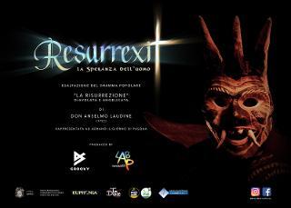 ''Resurrexit. La speranza dell'uomo'', la ''Diavolata e Angelicata'' di Adrano 2.0