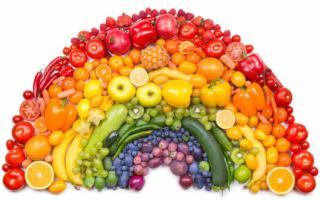 I colori da mangiare che fanno tanto bene alla salute