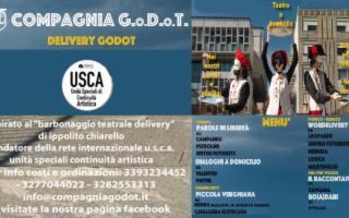 Delivery GoDoT - Barbonaggio Teatrale