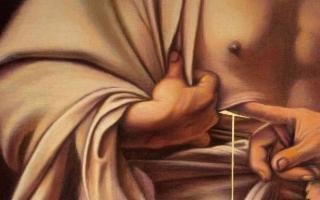 La ferita della carne e la Resurrezione, di Giovanni Viola