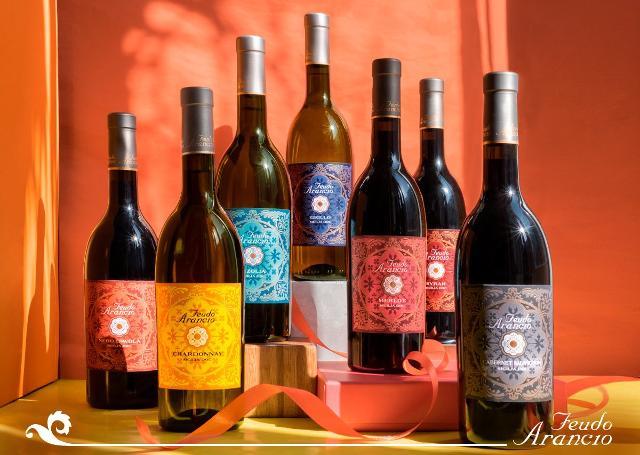 Alcuni vini Feudo Arancio