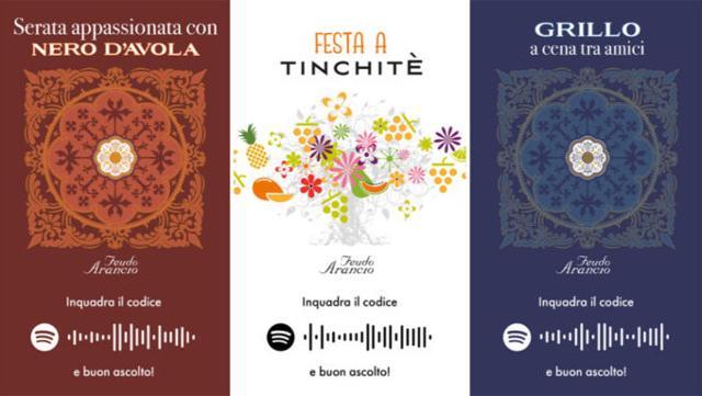 Le tre etichette musicali di Feudo Arancio