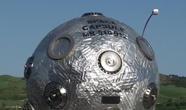 Il satellite ''Space Capsule MR 510 912'' è atterrato a Enna