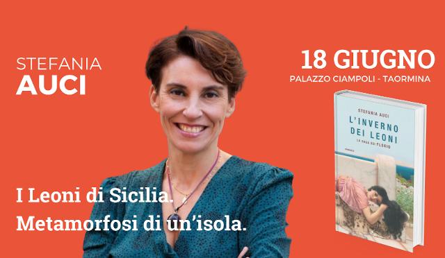 Stefania Auci a Taobuk 2021 racconterà l'Inverno dei leoni di Sicilia
