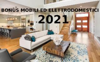 Bonus mobili ed elettrodomestici 2021: i requisiti e la guida completa