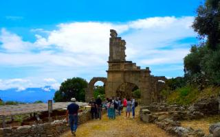 Il Parco archeologico di Tindari riapre e accoglie circa 200 croceristi