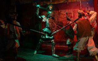 Sicilian Puppets Series -  ''La Francia sotto assedio''