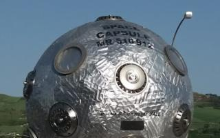 Il satellite ''Space Capsule MR 510 912'' è atterrato a Enna