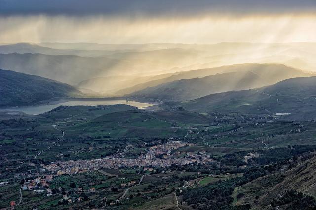 Panorama di Bivona
