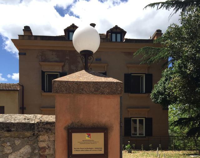Un nuovo allestimento per la ''Villa Rose'' di Lercara Friddi