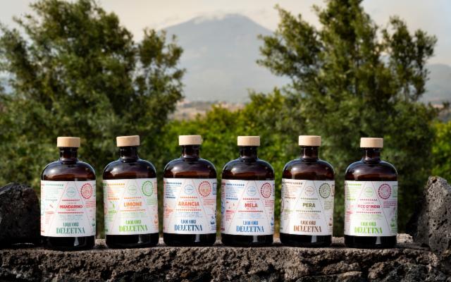 7 liquori ''agricoli'' per 7 personaggi: arrivano i Liquori dell'Etna