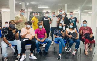 Il sogno (avverato) di Abina: a Palermo vaccini ai tamil dello Sri Lanka