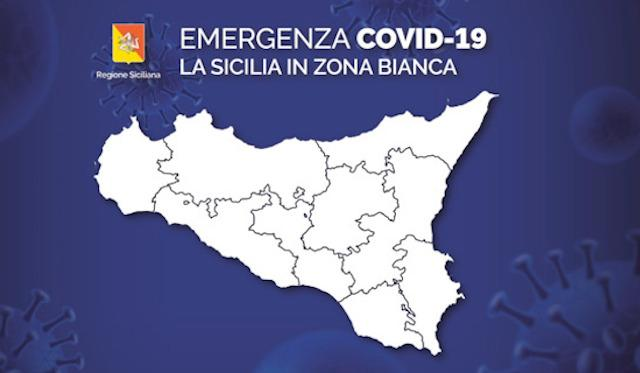 La Sicilia torna zona ''bianca'' da sabato 9 ottobre