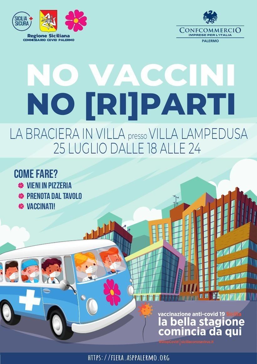 No Vaccini, No (ri)Parti!