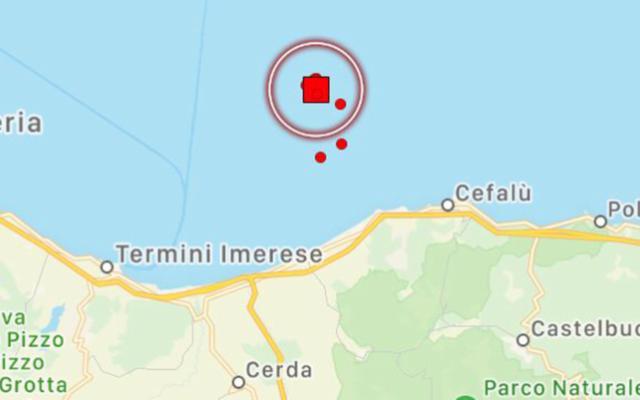 Terremoto di magnitudo 4.3 della scala Richter nel Palermitano