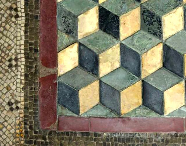 Scoperto a Segesta un mosaico romano uguale ad uno che si trova sul Palatino