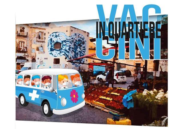 #VaccinInQuartiere continua ad andare in giro per Palermo