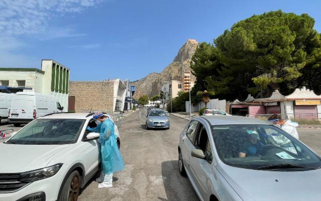 A Palermo continua #VaccinInQuartiere e alla Fiera del Mediterraneo si allunga l'orario per i tamponi drive-in