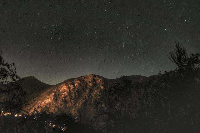 Sotto il cielo di Isnello, per il Parco Astronomico GAL Hassin